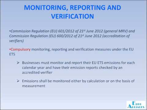 Introduction to the EU Emission Trading System - Part 4