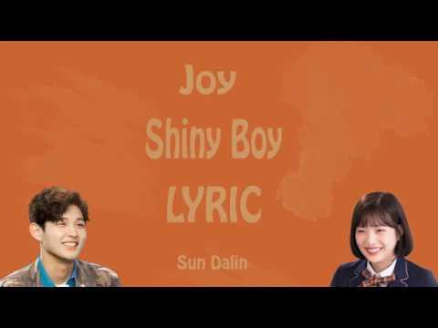 [LYRIC] Joy (조이) of Red Velvet – Shiny Boy [Han-Rom-Eng]