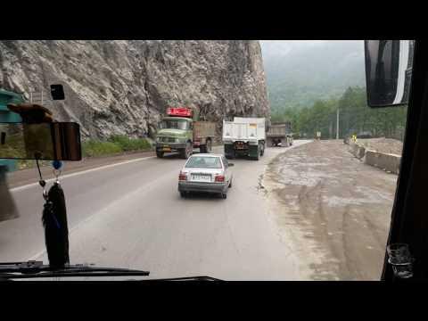 Iran - Mazandaran Province - Road to Amol