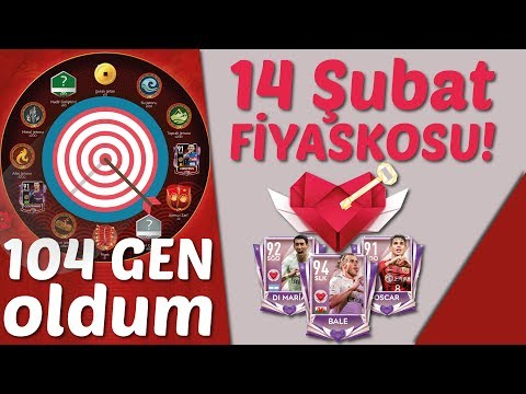 104 GEN Oldum | 12 BURÇ Paketi Açtım! | 14 Şubat Fiyaskosu! | FIFA Mobile thumbnail
