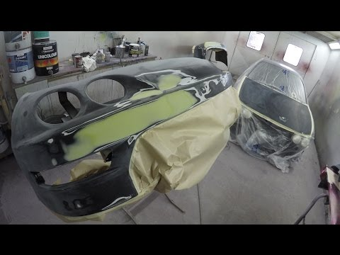 Repair, Prep & Mask Honda Integra Type R