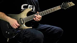 Brett Funk - Guitar Improv - 2019 - Schecter C-1 FR S SLS Elite - SM Backing Track
