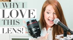 Why I LOVE Using the 85mm Lens! (Katelyn James Photography)