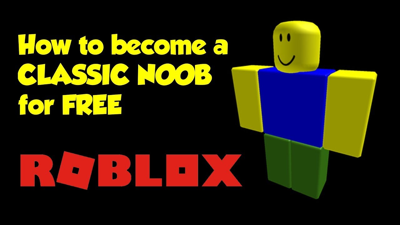 Noob Outfit Roblox Free How To Become A Classic Roblox Noob For Free Youtube