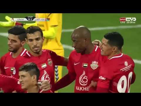 Nuevo gol de Jaime Ayoví en los Emiratos Árabes Unidos