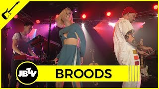 Broods - Peach | Live @ JBTV