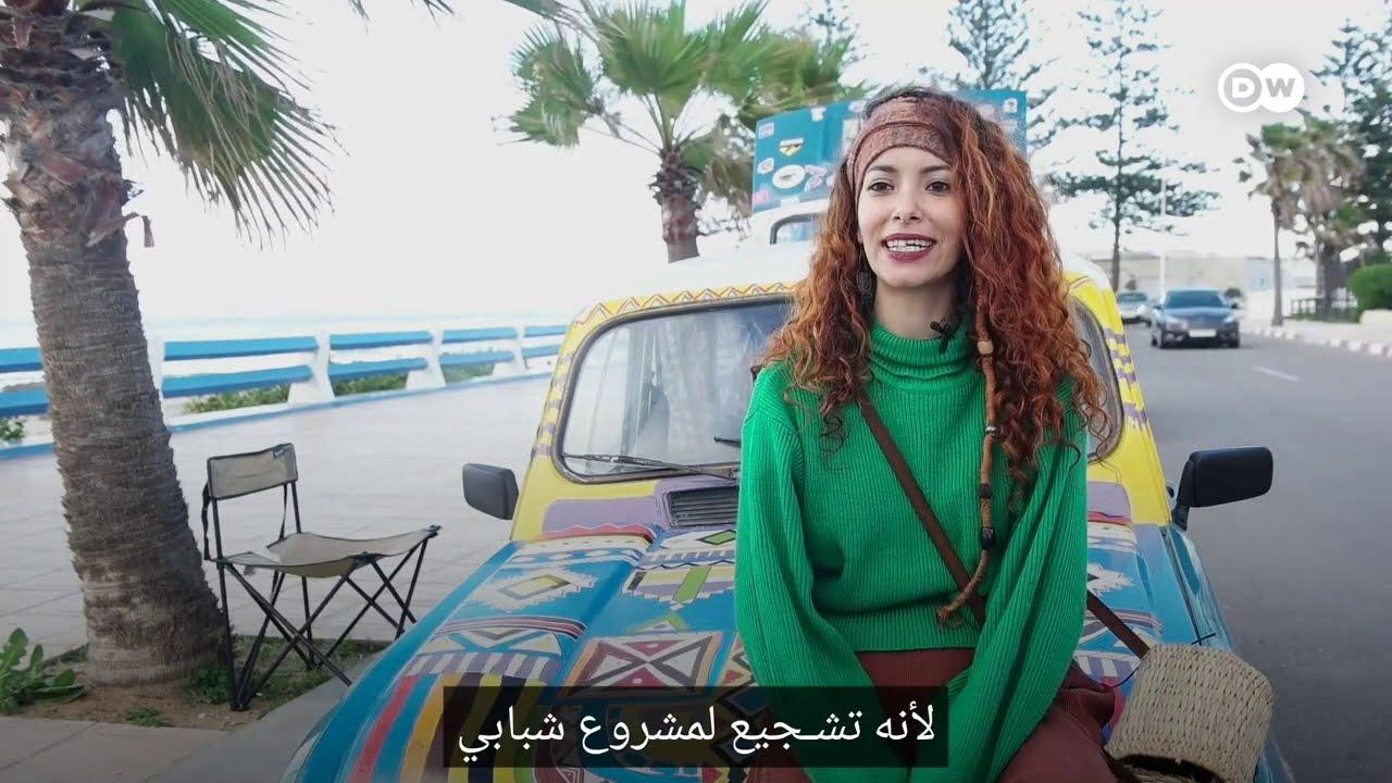 شغف شابة مغربية بالرسم على السيارات  - نشر قبل 3 ساعة