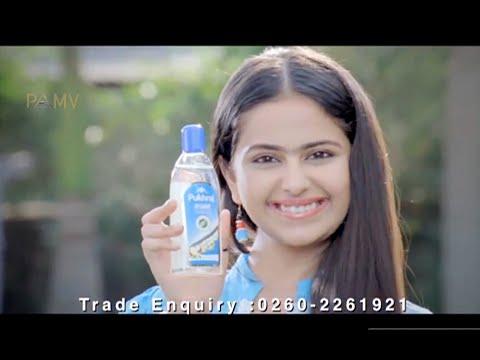 Ad Film of Pukhraj Jaismine Coconut Oil Featuring Avika Gor