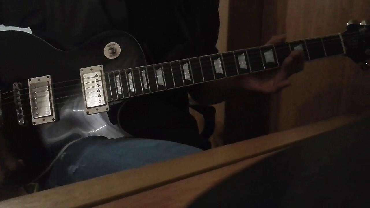 L uomo tigre guitar cover youtube