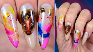 nail art de ganzenhoedster👸🏼