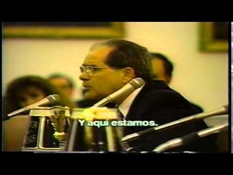 "Jorge Mas Canosa  ""A cry out for freedom""   ""Grito de libertad""  at U.S. Congress (1994)"