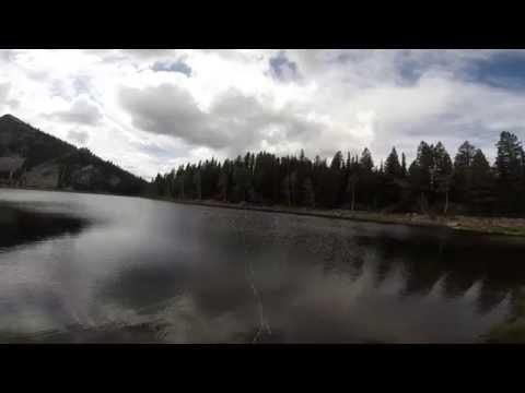 Fishing Louis Lake, McCall, Idaho, August 21, 2014 (GoPro)