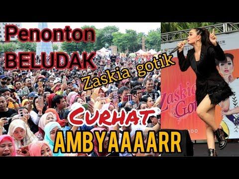 Download RIBUAN PENONTON || ZASKIA GOTIK LIVE TAIWAN || CURHAT AMBYAAAR Mp4 baru