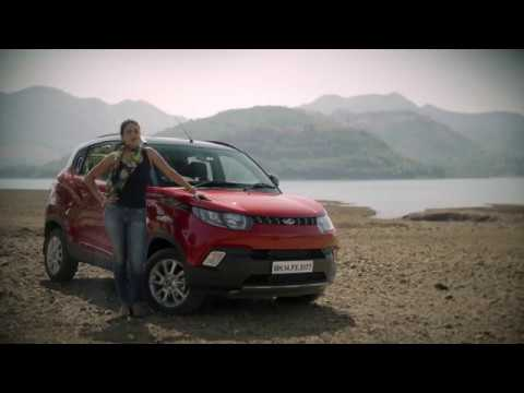 Gul Panag drives the Mahindra KUV100 - The Young SUV