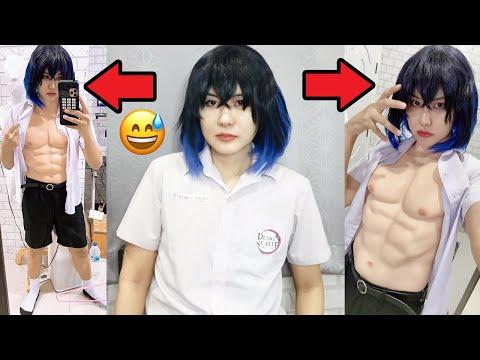 ซ่อนรูป!! นักเรียนชายหน้าหวานเหมือนผู้หญิงโชว์กล้าม6แพ็คแน่นๆ ของเขาผ่านโซเชียล!! คนไลค์เพียบ555+