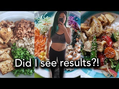 I Tried Intermittent Fasting & Training Like a Vegan Body Builder for a Month!