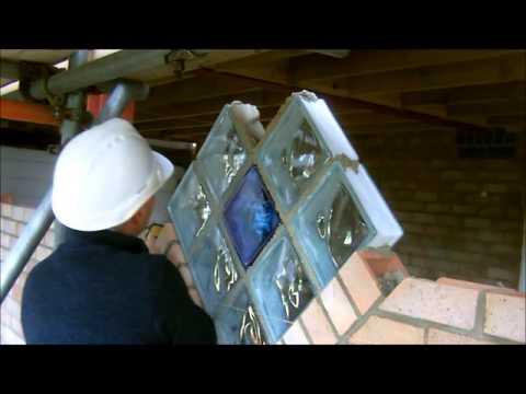 the fine art of brickwork - Glass Blocks