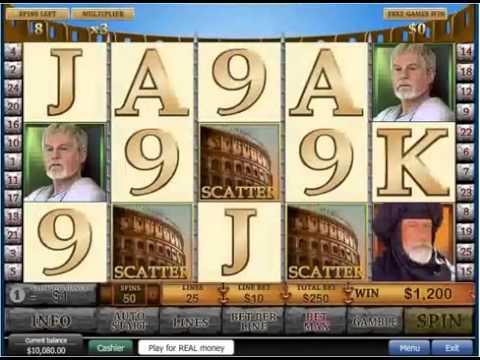 Gladiator Slot - невероятный выигрыш в 56 400$!!!