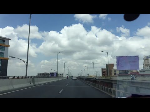 Driving at 110 Kmph (~70mph) in India | Electronics City Flyover Bangalore