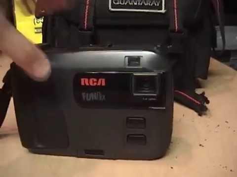 1994 Rca Funflix Vhs-c Camcorder Review  U0026 Test