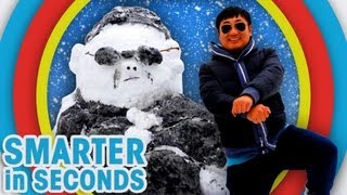The Tallest, Biggest and Best Snowmen in the world, oh & George Clooney - Smarter in Seconds
