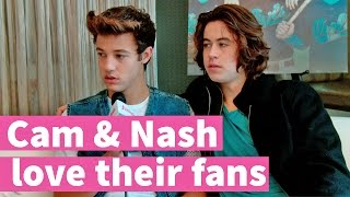 Cameron Dallas & Nash Grier talk about getting mobbed by girls!
