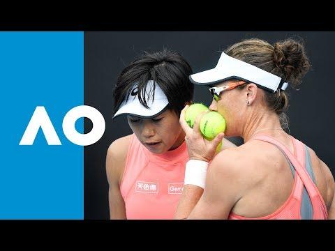 Krejcikova/Siniakova v Stosur/Zhang match highlights (QF) | Australian Open 2019