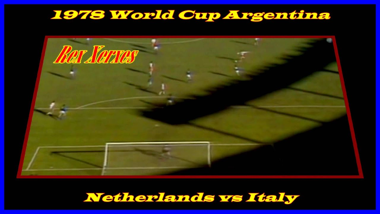 Arie Haan Vs Italy 1978 World Cup HD