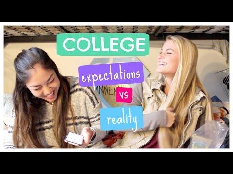 College Expectation vs Reality | Ft. FiercelyTasha