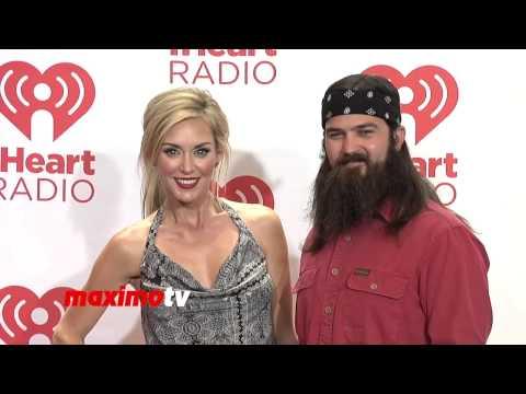 Jep Robertson & Jessica Robertson DUCK DYNASTY iHeartRadio Music Festival 2013
