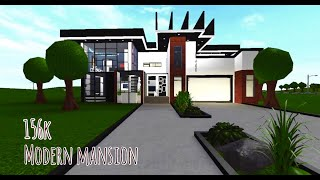 Bloxburg: Modern Mansion 156K *ROBLOX*