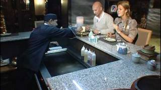 Ресторан MISATO/ Съемка программы о ресторане для тв