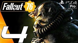 FALLOUT 76 - Gameplay Walkthrough Part 4 - Meeting Rose (Full Game) PS4 PRO