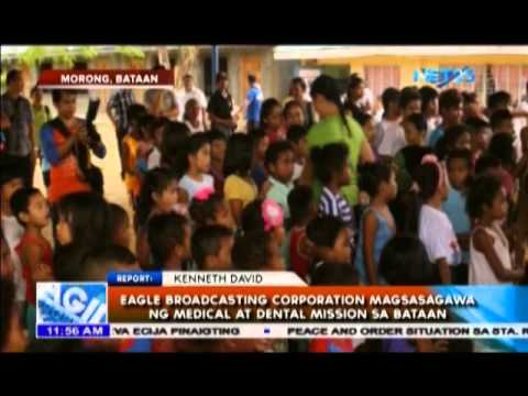 Eagle Broadcasting Corporation magsasagawa ng Medical at Dental Mission sa Bataan
