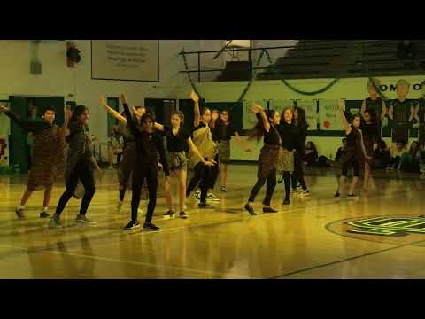"Costa Mesa Middle School Jungle Rally 2018 Dance Team ""Circle of Life District 78 Remix"""