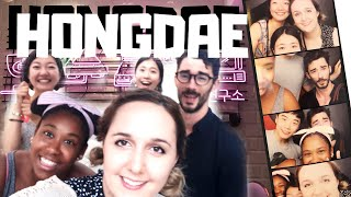 Gambar cover Explore Seoul   HONGDAE Dessert Lab & Night Life!!   This vlog gets messy LOL