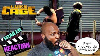 Luke Cage Season 2 Official Trailer Reaction! HE GOT DEBOED!!!