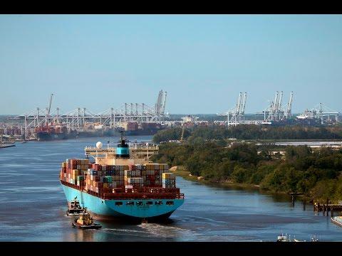 Georgia Ports Now Fully Operational 10-12-2016