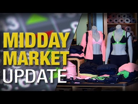 Midday Report: Stocks Slip as Retailers Drop on Cyber Monday