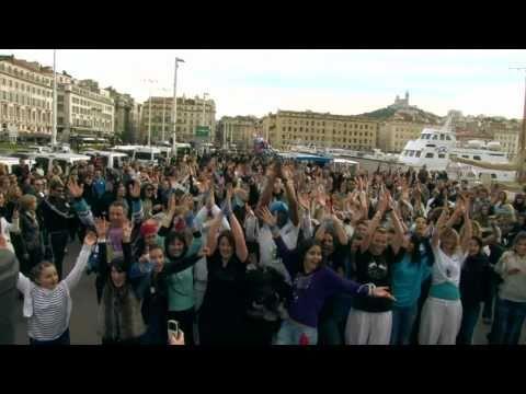 Flashmob Marseille Party 2011 - Zumba He Zumba Ha