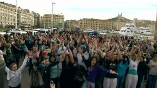 Flashmob Marseille Party 2011 - Zumba He Zumba Ha