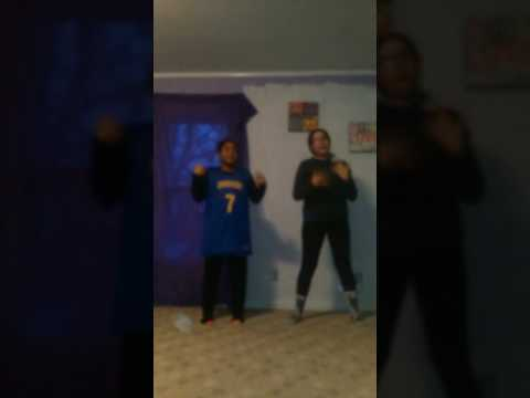 Dancing to juju and that beat