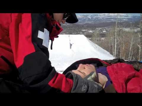 JASON ALLEN BREAKS HIS BACK SNOWBOARDING