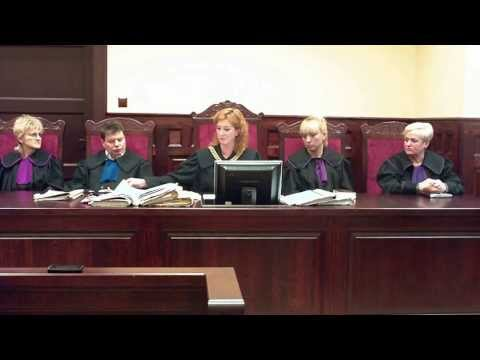 Ogłoszenie wyroku w Sądzie Okręgowym - Słupsk 17.12.2013