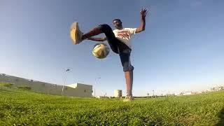 لاعب سوداني: مهارتي في الاستعراض بالكرة افضل من رونالدينيو وميسي ورونالدو