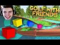 JOGANDO GOLF de CUBO COLORIDO!!! - Golf With Friends