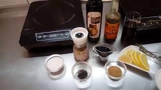 """Приготовление """"Бальзамического крема"""" (иногда называют нежно ПОЛИВАЛКА)"""