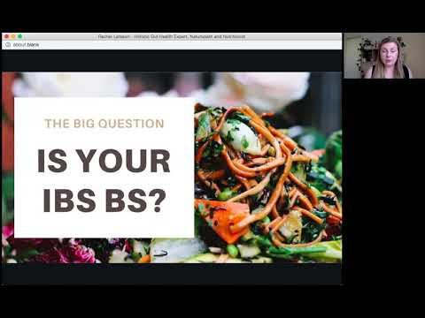 Is your IBS BS? Rachel Larsson