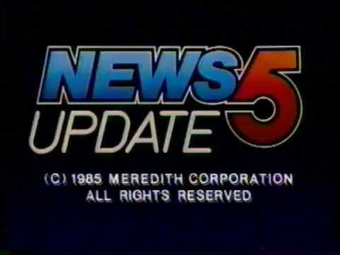 1/24/1985 KPHO Channel 5 Weather Update Phoenix, AZ