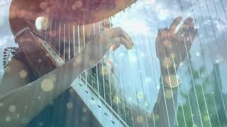Heavenly Amazing Grace Harp Инструментальная музыка 😇 Расслабляющая музыка для гимнов